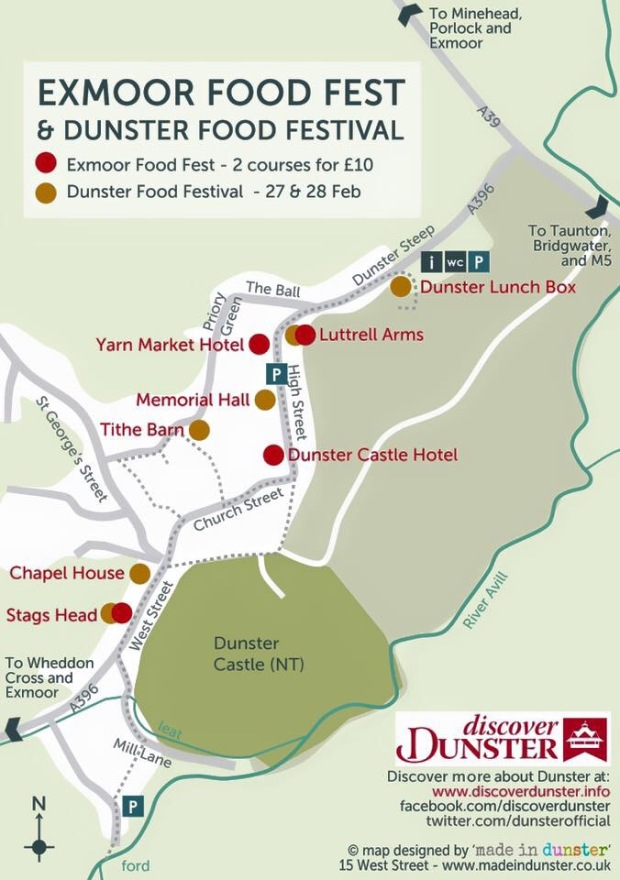 Exmoor Food Festival Dunster