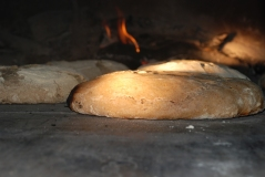 fresh bread baked in broomhill woodoven