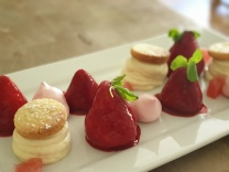 Strawberry cheesecake - Waterrow